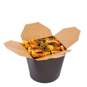 Professional Custom Take Away Noodle Box Food Packaging Kraft Paper Boxes