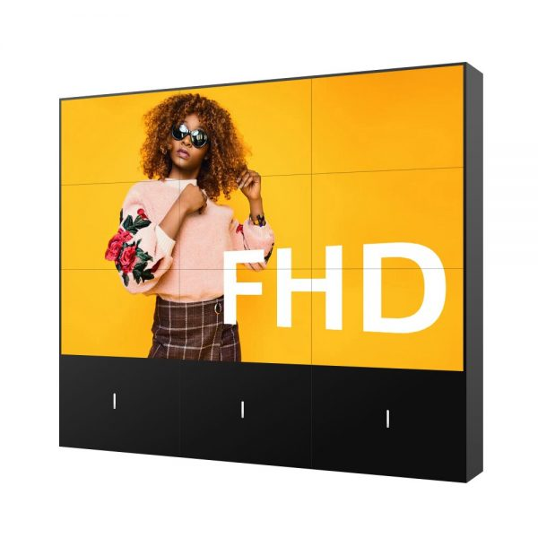 DID 55 Inch 3.5mm Ultra Narrow HD 2x3 3x3 LCD Video Wall Display Video Wall Mount for Shopping Mall And Exhibition