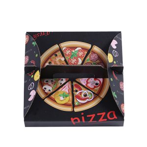 Wholesale PYC Corrugated Printed Packaging Box Custom Pizza Paper Boxes