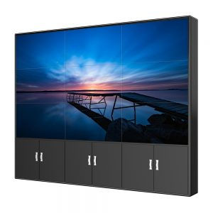 DID 55 zoll 1,7mm LCD Video Wand 3x3 monitor video wand Schmal Lünette für LCD werbung display digital signage