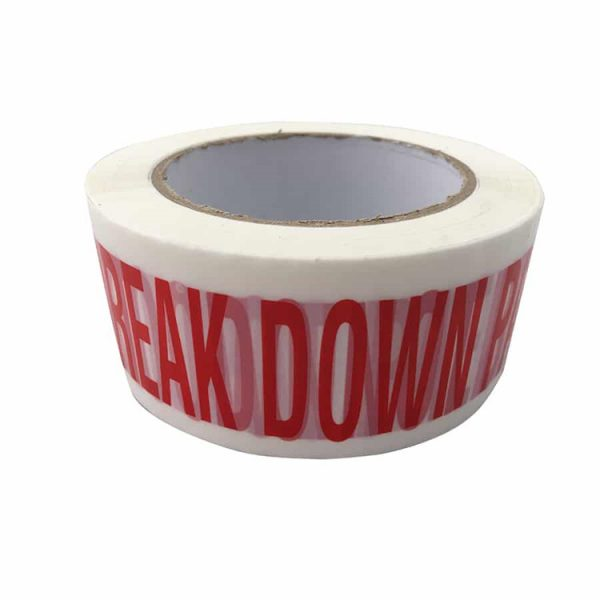 Personalised custom size packing tape branded sellotape