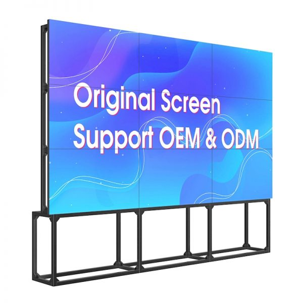 46 inch 3.5mm lcd video wall 3x3 monitor video wall with samsung lcd video wall