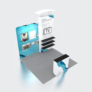 High Quality Custom Design Portable Fair Stand Exhibition Booth Display 10x10 Trade Show Booth