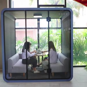 Open Office Quiet Private Acoustic Soundproof Meeting Pod Phone Booth
