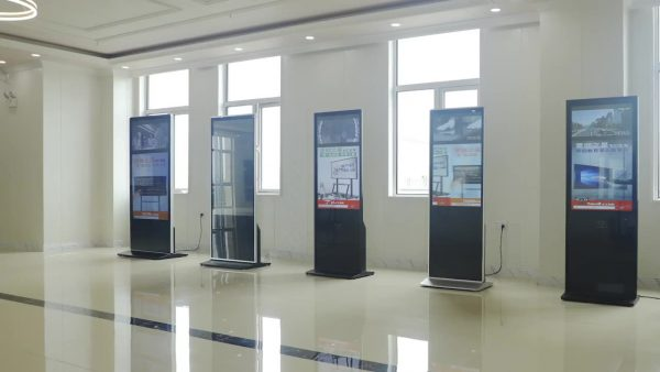 Touch Screen Marketing Lcd Display Advertising Kiosk Signage Electronic Kiosk Floor Stand